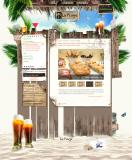 site internet bar la plage